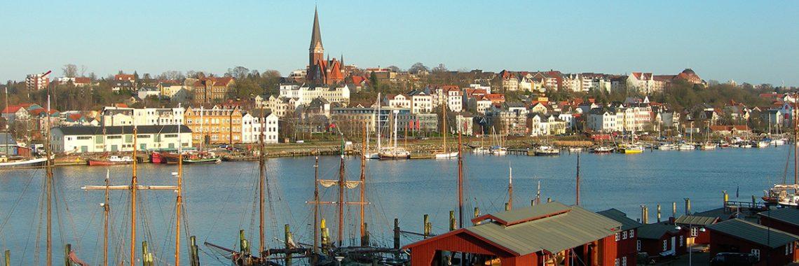 Ansicht Stadt Flensburg